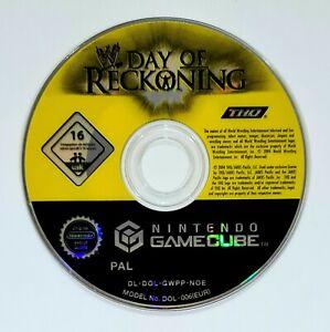 Nintendo GameCube Spiel WWE DAY OF RECKONING dt. PAL Wrestling/WWF/WCW