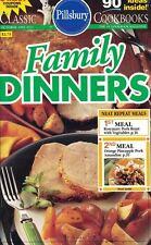 Pillsbury FAMILY DINNERS Small Cookbook #152 90 Ideas Inside 1993 Neat Repeats