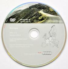 AUDI A3 A4 A6 TT R8 RNS-E NAVIGATION DVD 2015/2016 Europe de l'Ouest
