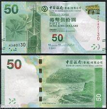 HONG KONG BOC  BANK OF CHINA  50 Dólares 2010 Pick nuevo  SC /  UNC