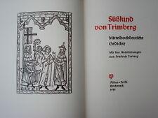 SÜßKIND v. TRIMBERG Judaica Manesse Reicheneck Torberg