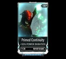 Warframe Maxed Primed Continuity Mod ( PS4 )