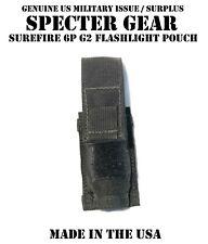 SPECTER GEAR 286 BLK BELT MOUNT SUREFIRE 6P G2 FLASHLIGHT POUCH US MILITARY SWAT