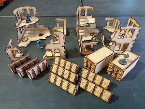 TTCombat - Sci Fi Scenics - Gothic Ruin Sector - Great for 40k