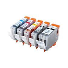 6x ink cartridge for CANON PIXMA iP4200 iP4300 MP800 MP810 MX850 CLI8 PGI-5BK