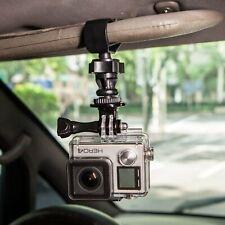"""For GoPro Camera Camcorder 1/4"""" Screw Car SunShade Visor Board Clip Mount Holder"""