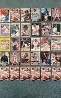 Greg Vaughn Baseball Card Mixed Lot approx 87 cards