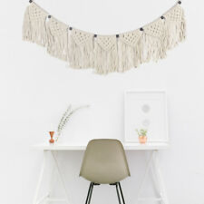 Boho Handmade Chic Tapestry Macrame Woven Wall Hanging Bohemian Home Art Decor