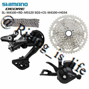 Brand New SHIMANO Deore M4100 1X10 Speed MTB Groupset 4 Pcs 46T W/M5120 RD