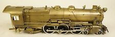 UNITED K-4 PENNSYLVANIA PACIFIC FAST MAIL 4-6-2 BRASS LOCOMOTIVE & TENDER-EX+!