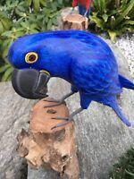 Holz Papagei, Sittich, Vogel, Kakadu, Ara, Tropenvogel, Paradiesvogel