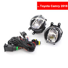 For Toyota Camry 2018 Auto Fog Light Lamp Car Front Bumper Grille Driving Lamps