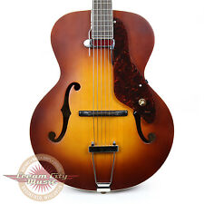 Brand New Gretsch G9555 New Yorker Archtop Guitar DeArmond Pickup Demo