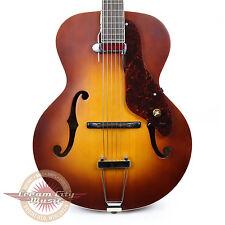 Brand New Gretsch G9555 New Yorker Archtop Guitar DeArmond Pickup Demo
