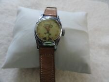 Hopalong Cassidy by US Time (Timex) Vintage Mechanical Wind Up Watch - Problems