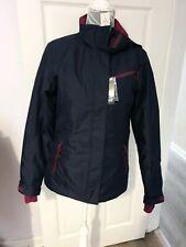 Crivit ladies Waterproof Coat Jacket Size 10 Winter Sports zip pockets womens