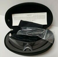 Oakley SI Ballistic M Frame Strike Glasses Clear Lens Kit Black Case HDO Safety