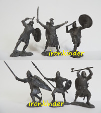 Anglo-Saxons tin alloy collectible Toy metal soldier Publius 54mm 1/32