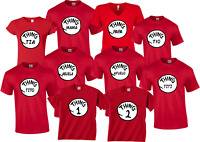 mama papa 1,2 Matching Cute family T-Shirts