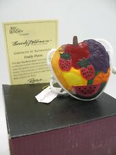 "Just The Right Shoe Raine Willittis Designs ""Fruity Purse"" Miniature Figurine"