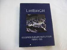 LAIBACH - OCCUPIED EUROPE - CD+VHS LTD. EDITION BOXSET EXCELLENT 1996 COPY #1440