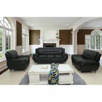 Segura Sofa Loveseat Chair 3 Piece Living Room Set