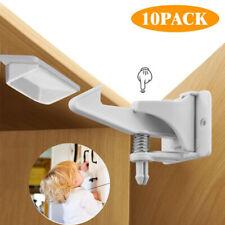 Child Safety Locks Cupboard Baby Proof Cabinet Drawer Kitchen