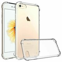 Case For iPhone 7 8 SE 2 11 Pro Clear Case Full Body Ultra Slim Phone Cover Gel