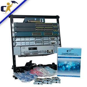 Cisco CCNA Security Premium Plus & ASA Lab Kit *Rack & 1 Yr Wty