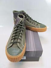 PF FLYERS Unisex CENTER HI SPLIT Green Sneakers Size M-8, W-9.5 PM15CS1D