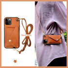 Coin purse phone case for iphone12/11,burnt brick