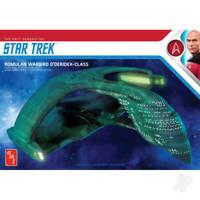 Star Trek Romulan Warbird 2T Model Kit AMT AMT1125M 1:3200 D'Deridex Class