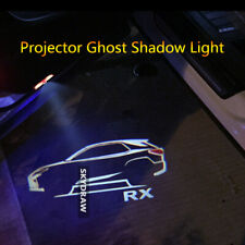 1 PAIR FOR LEXUS RX 2007-2019 CAR LED DOOR WELCOME PROJECTOR GHOST SHADOW LIGHT