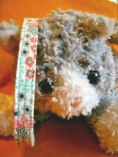Cat Fabric Collar, Handmade - Simply Country Flowers For The Country Cat