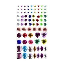 1 Sheet Decal Scrapbooking Self Adhesive Rhinestone Bling Stickers Crystal NT