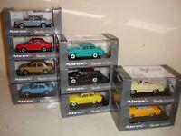 Abrex 1:43#- Skoda Models (Felicia/120L/Octavia) most types/colours all £19.95ea