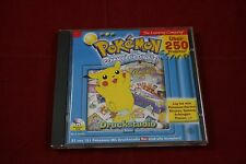 Pokemon Druckstudio Blau
