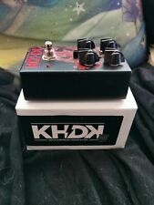 Kirk Hammett KHDK Dark Blood Guitar distortion Pedal, boxed, Ex Cond. Free P+P
