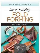 Metalsmith Essentials - Basic Jewelry Fold Forming with Travis Ogden - DVD