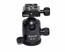 Kood Ball Head 55A 44mm Diameter Ball 18kg Max Load Arca Swiss QR Plate