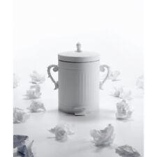 Seletti - Metal Trash Bin - White