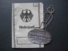 Bundeswehr Wehrpass Luftwaffe Sanitaets Stagione Lw Flak Btl 48 Class Perdita
