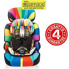 Cosatto Poltroncina Seggiolino Auto Gruppo 1/2/3 da 9 a 36 Kg - Go Brightly