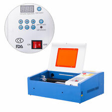 Digital Electric Current Display 40W CO2 Laser Engraver Cutter w/ USB Interface