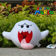"Super Mario Bros. Boo Ghost 6"" Plush Toy Nintendo Game Cute Stuffed Animal Doll"
