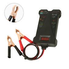 12V Digital Battery Tester Voltmeter and Charging System Analyzer Car Motorcycle