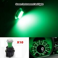 20x PC74 Twist Socket Green T5 LED 5050 SMD Instrument Cluster Dash Lights Lamp