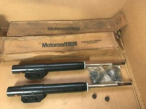 Ford E7LY-18124-B Motorcraft AM-76-G Front Shock Absorber, Set of 2 -- NOS OEM