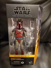 Star Wars: the Black Series Mandalorian Super Commando Clone Wars NEW exclusive