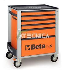 Carrello cassettiera mobile Beta Tools C24S 6/O portautensili 6 cassetti arancio